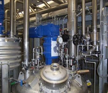 Impianti chimici farmaceutici